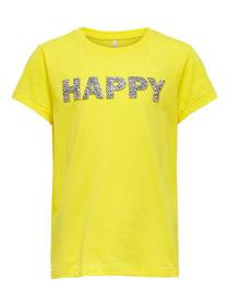 KONVOYAGE LIFE  FIT S/S TOP JRS - 185983002/Butter