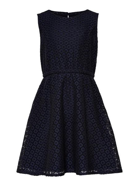 KONLINE S/L ABOVE KNEE DRESS WVN