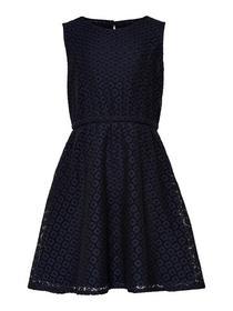Spitzen Kleid ohne Ärmel