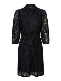 VMBONNA 3/4 SHORT SHIRT DRESS WVN BF