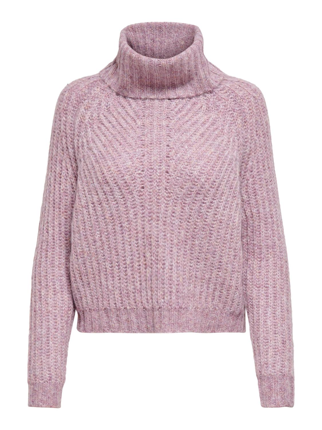 ONLNEW CHUNKY L/S ROLLNECK PULLOVER