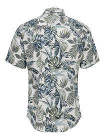 ONSTIMOTHY LIFE SS FLORAL SHIRT RE