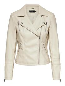ONLGEMMA FAUX LEATHER BIKER OTW NOO