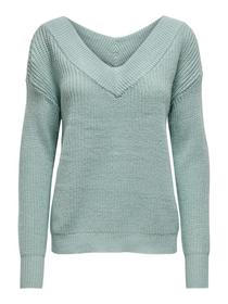 V-Kragen Pullover