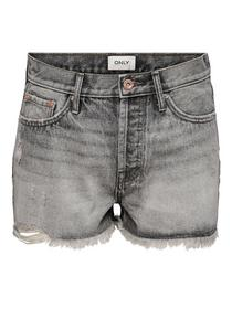 ONLFINE LIFE HW GREY  RE DNM SHORTS ADD