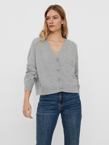 VMDOFFY LS V-NECK BUTTON CARDIGAN LCS