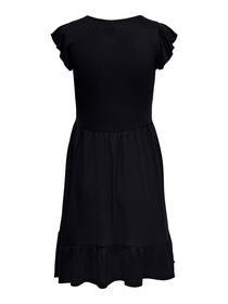 JDYDITTE S/S V-NECK DRESS JRS