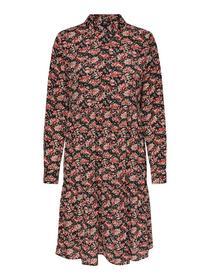ONLLARRY LS SHORT SHIRT DRESS WVN