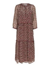 ONLMERLE 3/4  CALF DRESS WVN