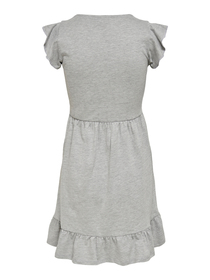 JDYDITTE S/S V-NECK DRESS JRS