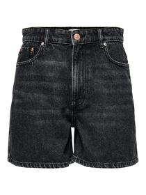 ONLBAY LIFE HW MOM GREY DNM SHORTS NAS