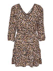 ONLFUCHSIA 3/4  WRAP DRESS WVN