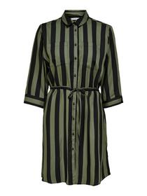 ONLTAMARI 3/4 SHIRT DRESS WVN NOOS