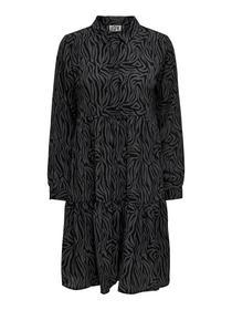 JDYPIPER L/S AOP  SHIRT DRESS WVN N