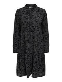 JDYPIPER L/S AOP  SHIRT DRESS WVN NOOS