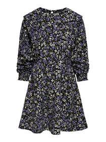 KONSAGA L/S SHOULDER DETAIL DRESS JRS