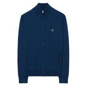 Cotton Wool Zip Cardigan