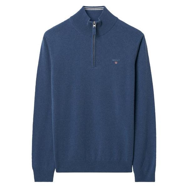 Lambswool Pullover mit Half-Zip