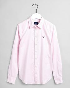 Stretch Oxford Banker Bluse