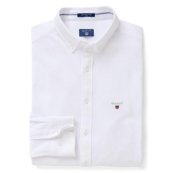 Figurbetontes Tech Prep™ Piqué Hemd
