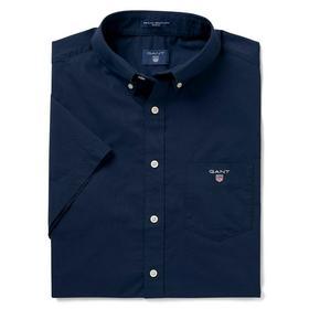 Kurzärmliges Broadcloth Hemd