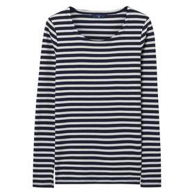 Langärmliges Rib T-Shirt