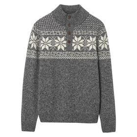 Holiday Mockneck Pullover
