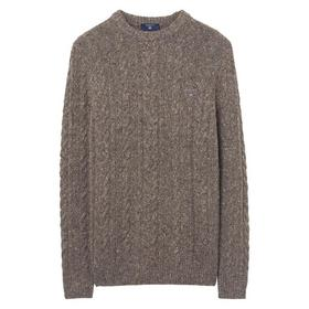 Donegal Zopfstrick Pullover