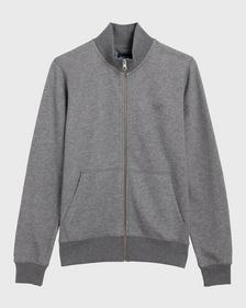 Full-Zip Sweat Cardigan