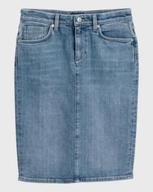Blauer Jeans Rock
