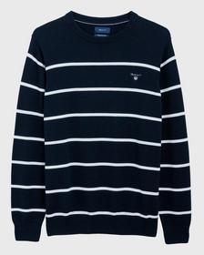 Classic Cotton Breton Crew Sweater