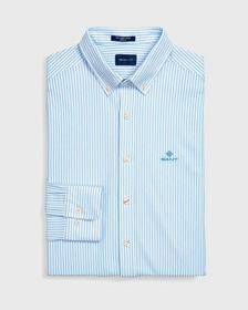Gestreiftes Tech Prep™ Piqué Hemd