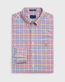 Broadcloth  3-Color Gingham Hemd
