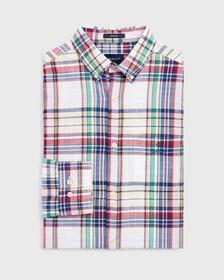 Klassisches Madras Hemd
