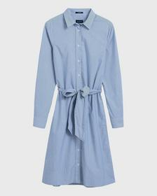 O1. TP FINE STRIPED SHIRT DRESS