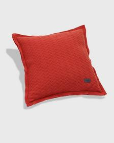 FISHBONE KNIT CUSHION