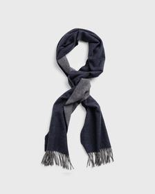 D1. TWO FACED TWILL SCARF