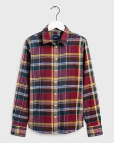 D2.WINTER TWILL MADRAS CHECK SHIRT,