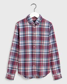 D2. FADED WINTER TWILL CHECK SHIRT,