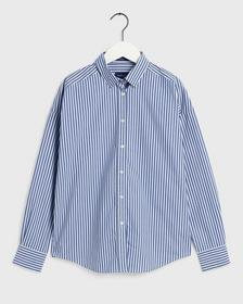 D1. TP BC STRIPED OVERSIZED SHIRT, COLLEGE BLUE