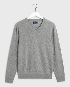 MD. EXTRAFINE LAMBSWOOL V-NECK