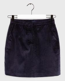 D1. WIDE WALE CORD SKIRT