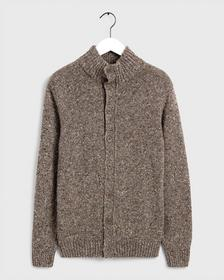 D2. NEPS KNIT MOCK NECK CARDIGAN