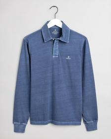 D2. SUNFADED LS RUGGER - 461/INSIGNIA BLUE