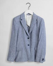 D2. STRETCH LINEN REGULAR BLAZER