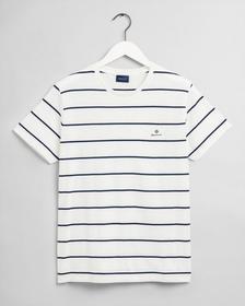 T-Shirt mit Breton-Streifen