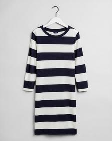 Jersey Kleid mit Streifen