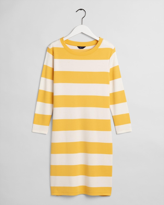 D2. BARSTRIPED JERSEY DRESS