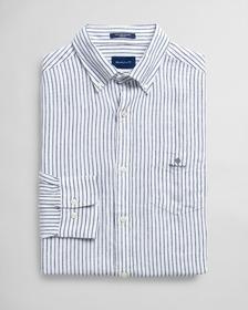 Leinen Hemd mit Streifen