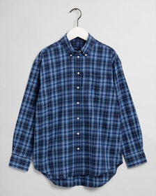 D2. FLANNEL CHECK RELAXED SHIRT